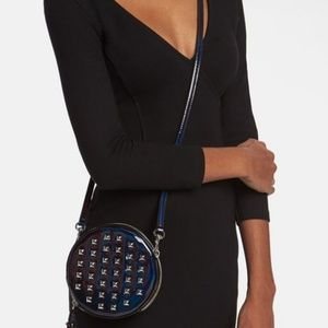NWT Rebecca Minkoff COLBY circle studded wristlet